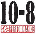 10-8 PERFORMANCE Logo