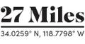 27 Miles Logo