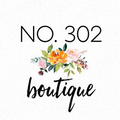 No 302 Boutique Logo