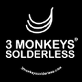 3 Monkeys Solderless Logo
