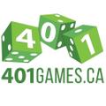 401 Games Logo