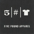 5 Pound Apparel Logo