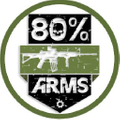 80 Percent Arms Logo