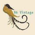 86 Vintage Logo