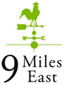 9 Miles East Farm Catering Logo