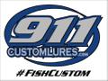 911CustomLures USA Logo