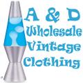 A&D Vintage Clothing Logo
