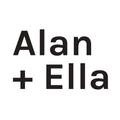 Alan + Ella Logo