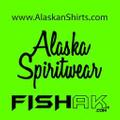 Alaska Spiritwear, LLC - FishAK USA Logo