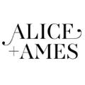 Alice + Ames Logo