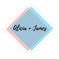 Alicia + James Logo