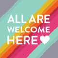 All Are Welcome Here Logo