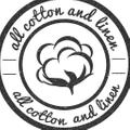 All Cotton and Linen USA Logo
