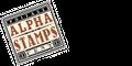Alpha Stamps Logo