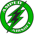 Amped Airsoft Logo