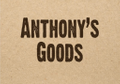 Anthony's Goods Logo