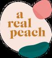 A Real Peach Logo