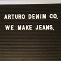 Arturo Denim Co. Canada Logo