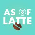 As Of Latte Logo