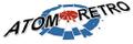 Atom Retro Logo