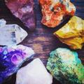 AtPerrys Healing Crystals Logo