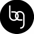 B-glowing logo