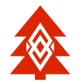 Banded Pines Logo