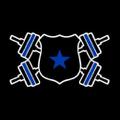 Barbells And Badges Logo
