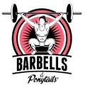Barbells & Ponytails Logo