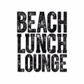 Beach Lunch Lounge Logo