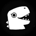 Beautiful Dinosaur Logo
