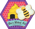 Bee's Baked Art Supplies and Artfully Designed Creations logo