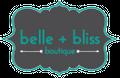 Belle + Bliss Boutique Logo