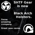Black Arch Holsters Logo