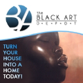 The Black Art Depot Logo