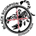 Black Scorpion Outdoor Gear USA Logo