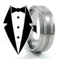 Black Tie Rings Logo