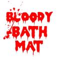 Bloody Bath Mat Logo