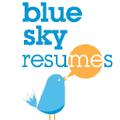 Blue Sky Resumes Logo