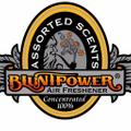 BluntPower Air Freshener Logo
