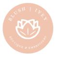 Blush Ivey Boutique logo