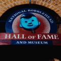 National Bobblehead Hall of Fame and M logo