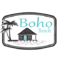 Boho Beach Hut Logo