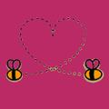 Bonding Bees Logo