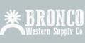 Bronco Western Supply Co. Logo