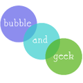 Bubble and Geek Logo