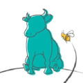 the Bull and the Bee USA Logo