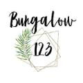 Bungalow 123 Logo