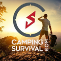 Camping Survival Logo