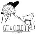 Cat And Cloud Logo